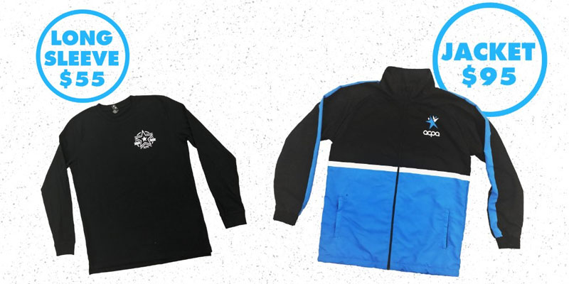 Long Sleeve Jackets at the ACPA Store