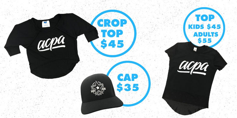 Caps, Tops and Crop tops