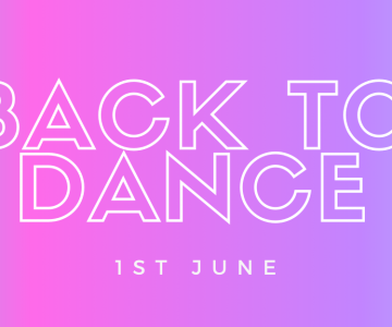 Back to Dance - 1st June