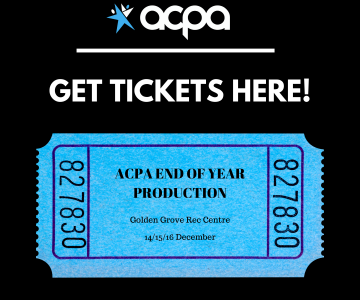 2020 END OF YEAR PRODUCTION - TICKETS